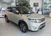 Bán xe Suzuki Vitara 2017 màu trắng ngà, xe nhập, giao ngay. LH: 0985.547.829
