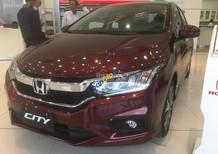 Cần bán Honda City 1.5 CVT đời 2017, màu đỏ tại Hà Tĩnh