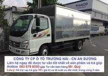 Thaco Ollin 5 tấn thùng dài 4,3 mét mới. Bán xe tải Thaco Ollin 500B giá tốt nhất