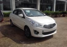 Cần bán xe Mitsubishi Attrage CVT 2017, màu trắng, có bán trả góp liên hệ 0906.884.030