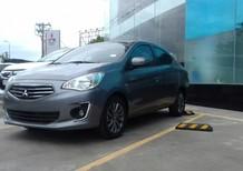 Bán Mitsubishi Attrage MT 2017, màu xám, xe nhập, có bán trả góp liên hệ 0906.884.030