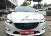 Cần bán xe Mazda 6 2.0 AT đời 2016, màu trắng số tự động