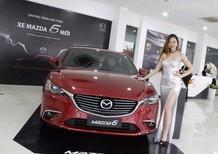 Bán Mazda 6 sản xuất 2017, màu đỏ, nhập khẩu