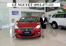 Bán Mitsubishi Attrage sản xuất 2017, màu đỏ, nhập khẩu