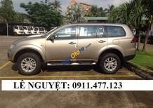 Mitsubishi Pajero Sport xe 7 chỗ màu vàng cát, rẻ nhất Đà Nẵng, hỗ trợ trả góp 90% - LH 0911477123
