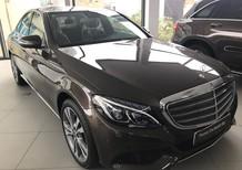 Cần bán xe Mercedes C250 2017, màu nâu như xe mới giá rẻ như xe cũ