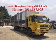bán xe tải dongfeng 6t7 - 6.7 tấn - 6,7 tân thùng dài 9.3m nhập khẩu