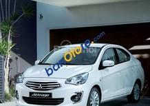 Cần bán xe Mitsubishi Attrage MT sản xuất 2018, màu trắng, nhập khẩu