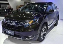 Bán xe Honda CRV 1.5 Vtec 2018 giá tốt nhất tại Quảng Bình, xe đủ màu, giao xe sớm nhất
