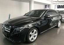 Bán xe Mercedes E250 đk 2017, màu đen siêu lướt 6.980 km giá rẻ