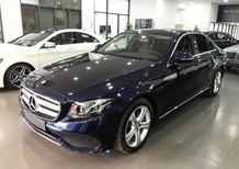 Cần bán Mercedes E250 đời 2017, màu xanh lam, xe nhập
