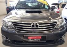 Cần bán gấp Toyota Fortuner 2.5G 2016, màu xám, giá tốt