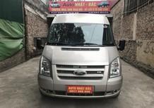 Bán xe Ford Transit 16 chỗ, máy 2.4MT, sản xuất 2012, lắp ráp trong nước, máy móc nguyên zin