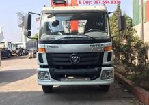 Xe tải cẩu 9 tấn Auman C160 gắn cẩu 5 tấn KangLim KS1056, vay trả góp lh 0976548336