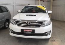 Bán xe Toyota Fortuner năm 2015, màu trắng, xe gia đình