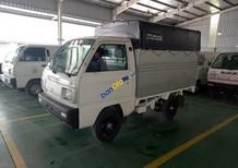 Bán Suzuki Super Carry Truck năm 2018, màu trắng, thùng siêu dài duy nhất tại Suzuki Vân Đạo