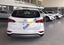 Bán Hyundai Santa Fe đời 2017, màu trắng