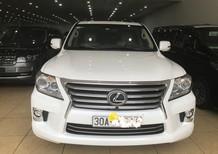 Bán xe Lexus LX 570 nhập mỹ đời 2015, màu trắng, xe nhập, như mới