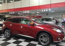 Bán Nissan Murano LTD đời 2017, màu đỏ, nhập khẩu nguyên chiếc