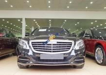 Cần bán Mercedes S500 màu đen, nội thất nâu, sản xuất 2016, đăng ký công ty