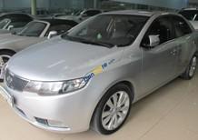 Cần bán Kia Forte 1.6AT đời 2011, màu bạc, xe nhập số tự động, giá 450tr