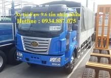 Xe tải Faw 9.6 tấn/9,6 tấn/9.6 tân nhập khẩu chất lượng hàng đầu