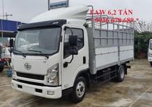 Xe tải FAW 6,2 tấn thùng dài 4m3 - GM FAW 6.2 tấn - FAW 6T2 (FAW 6 tấn 2),giá rẻ