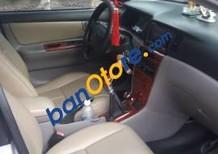 Cần bán gấp Toyota Corolla Altis đời 2002, màu bạc số sàn