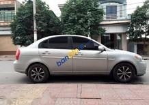 Bán Hyundai Verna đời 2008, màu bạc, 220tr