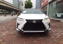 Cần bán Lexus RX 350 F-Sport đời 2018, màu trắng, nhập Mỹ, mới 100%, xe giao ngay
