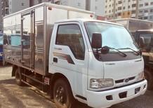 Xe tải Kia K165 thùng kín tải trọng 2,3 tấn Thaco. Hổ trợ trả góp. Bảo hành 2 năm.