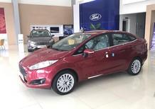 Bán xe Ford Fiesta 1.5 Titanium 2018, màu đỏ mận, mới 100%. L/H giá tốt 090.778.2222