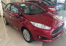 Bán xe Ford Fiesta 1.5 Sport 2018, màu đỏ mận, mới 100%. L/H 090.778.2222