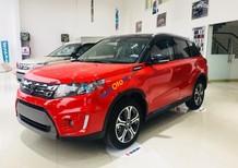 Bán Suzuki Vitara 1.6 AT đời 2017, màu đỏ, xe nhập