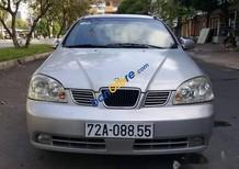 Bán Daewoo Lacetti đời 2005, màu bạc xe gia đình