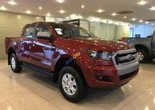 Bán Ford Ranger XLS 2.2L 4x2 AT đời 2017, màu đỏ, xe nhập