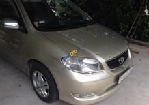 Cần bán Toyota Vios 1.5G đời 2004, giá 255tr