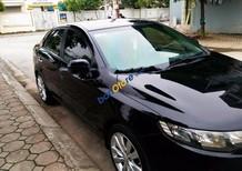 Bán Kia Cerato 1.6 AT đời 2011, màu đen, nhập khẩu như mới