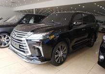 Cần bán xe Lexus LX 570 đời 2017, màu đen, nhập khẩu nguyên chiếc