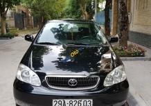 Cần bán lại xe Toyota Corolla Altis đời 2003, màu đen chính chủ