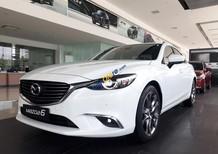 Bán xe Mazda 6 2.0L Premium 2017, màu trắng, bản cao cấp, chính hãng, có xe giao ngay trong ngày