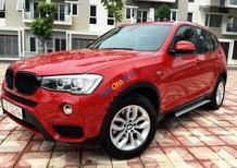 Cần bán BMW X3 xDrive LCI đời 2016, màu đỏ, nhập khẩu