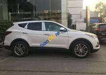 Bán ô tô Hyundai Santa Fe đời 2018, màu trắng