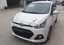 Cần bán gấp Hyundai Grand i10 đời 2015, màu trắng, xe nhập số sàn, giá chỉ 345 triệu