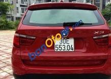 Cần bán xe BMW X3 xDrive LCI năm 2016, màu đỏ, nhập khẩu