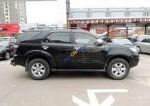 Bán Toyota Fortuner G sản xuất 2011, màu đen số sàn, 658tr