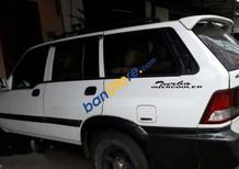 Cần bán lại xe Ssangyong Musso đời 2003, màu trắng