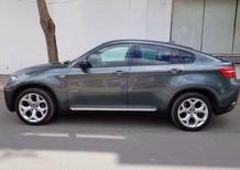 Bán xe BMW X6 xanh ngọc, sx 2008, máy 3.5 full option