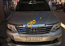 Bán xe Toyota Fortuner đời 2012, màu bạc