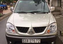 Cần bán gấp Mitsubishi Jolie đời 2005, màu vàng, nhập khẩu nguyên chiếc, xe gia đình giá cạnh tranh